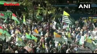 Violent Protest Over J&K Issue Erupted Outside Indian High Commission In London