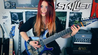 SKILLET   Whispers In The Dark [GUITAR COVER] With SOLO | Jassy J