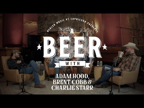 Screenshot from the Creek Session featuring A Beer with Adam Hood, Brent Cobb & Charlie Starr