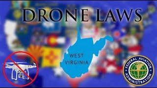 Where Can I Fly in West Virginia? - Every Drone Law 2019 - Charleston and Huntington (Episode 48)
