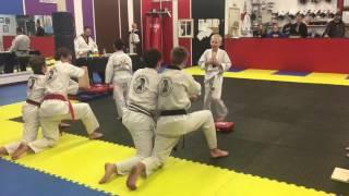 KXRB's Mark Tassler's Son Breaks Board in Mid-Air at Martial Arts