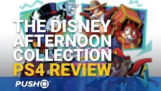 The Disney Afternoon Collection PS4 Review | PlayStation 4 | Gameplay Footage