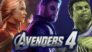 Avengers 4 NEW *LEAKED* TRAILER DESCRIPTION