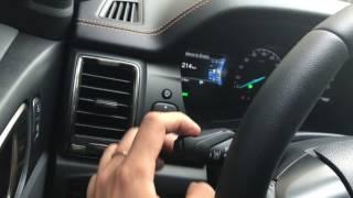 Hướng dẫn sử dụng những chức năng cơ bản nhất trên xe hơi