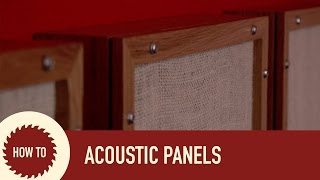 How I Became a YouTuber and How to Make Acoustic Panels
