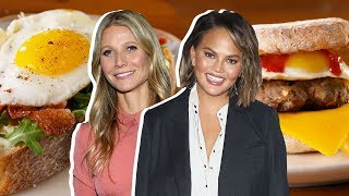 Chrissy Teigen Vs. Gwyneth Paltrow: Whose Breakfast Sandwich Is Better?