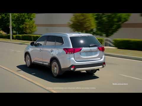 Mitsubishi  Outlander Кроссовер класса J - рекламное видео 4
