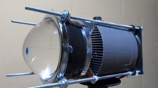 Teste Lanterna LED 100W 9000LM VS 3X XML-T6 3800LM.