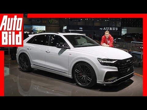 ABT Audi Q8 (Genf 2019) Neuvorstellung - Details - Sitzprobe