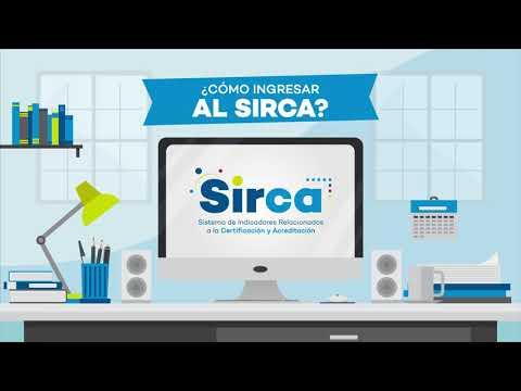 Acceda a estadísticas sobre la acreditación  y la certificación en aplicativo SIRCA