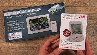 Digitale Wetterstation [Thermometer / Hygrometer] [Aldi]