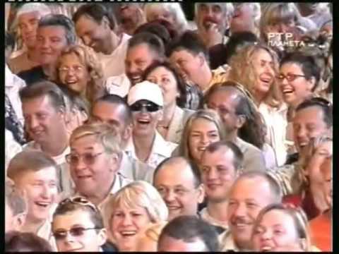 2004 г  Геннадий Ветров и Карина Зверева  - Пародия на Д  Копперфильда