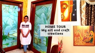HOME DECOR IDEAS| DIY ROOM DECOR | ART AND CRAFT IDEAS | INDIAN HOME TOUR | RIDHIMAA CREATIONS