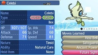 Obtaining Celebi - Pokemon Silver and Gold Virtual Console