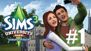 Let's Play - The Sims 3 University Life (Part 1) Off To School