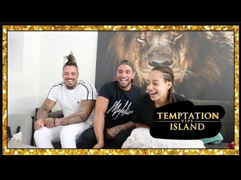 TEMPTATION ISLAND VIPS AFL 8. SAMEN KIJKEN MET DAMIAN & QUENTIN