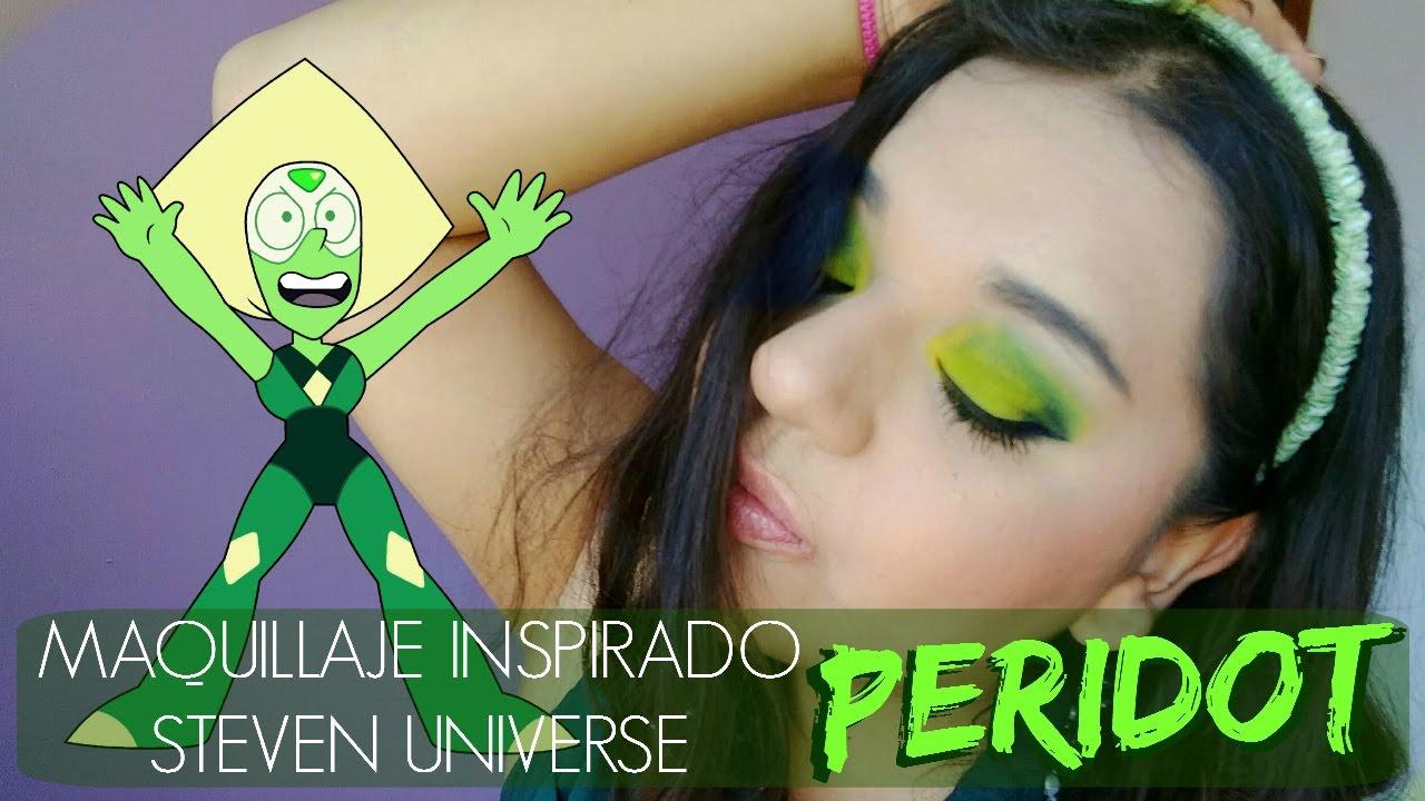 Maquillaje Inspirado - Steven Universe - Peridot