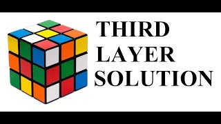 LAYER 3 SOLUTION OF A RUBIK'S CUBE IN HINDI