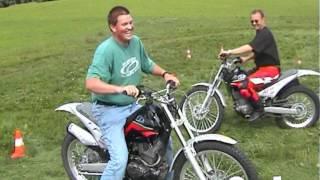 preview picture of video 'Motorrad Geländetraining MS2'