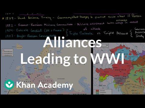 Alliances leading to World War I (video) | Khan Academy