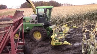 Chopping Corn Until Major Breakdown Happened