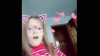 Арина котенок/// приложение Квай