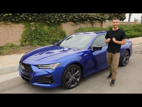 2021 Acura TLX Test Drive Video Review
