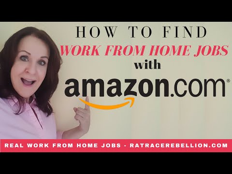 How to Find a Work from Home Job with Amazon.com