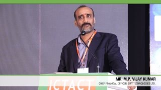 M P Vijay Kumar | Sify Technologies Ltd | ICTACT Convergence 2015