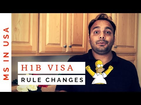 H1B VISA LATEST RULE CHANGES - January 30, 2019 | *GREAT NEWS*