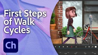 Teach Your Illustrated Character How to Walk | Adobe Creative Cloud