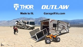 Outlaw Toy Haulers | Flexible Motorhomes with a Garage from Thor Motor Coach
