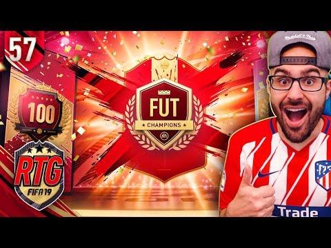 YES! MY HUGE TOP 100 REWARDS! FIFA 19 Ultimate Team #57 RTG