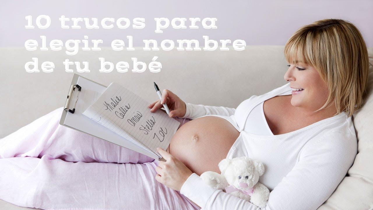 10 trucos para elegir el nombre del bebé