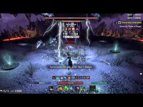 ESO vMA Magicka Warden 597k Murkmire - Xbox One