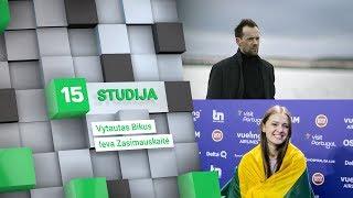 """Pirmadienį 15min studijoje – 12 vietą """"Eurovizijoje"""" užėmusi Ieva Zasimauskaitė"""