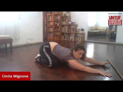 Acondicionamiento físico con Cintia Mignone