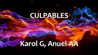 Culpables - Karol G & Anuel Aa -   Español - English  S