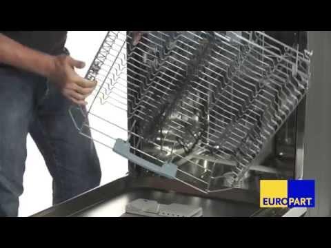 Wie tauscht man die Korbrollen einer Spülmaschine?