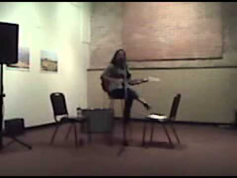 Me doing a show at a Local Film/ Music Fest!!!