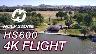 Holystone HS600 4K Flight Footage