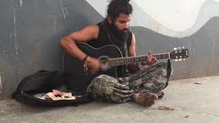 Best Street Guitarist In India-He Use Only 2 Strings Amazing At Brigade Bengaluru | Imphal Traveller