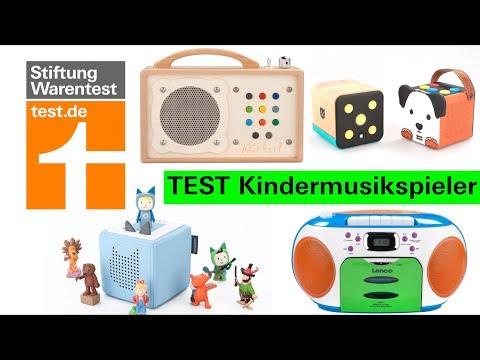 Test Kindermusikspieler: Was Toniebox + Hörbert können & welche Player im Test mangelhaft sind