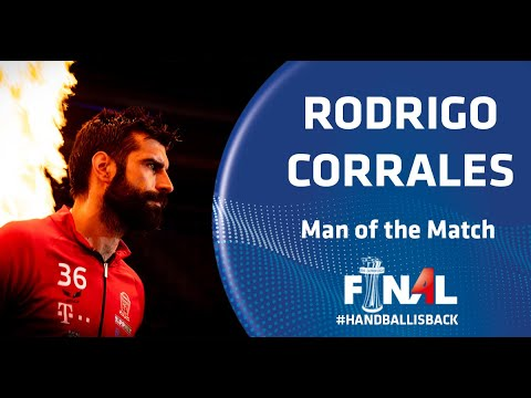 Rodrigo Corrales takes SEHA red carpet I MOTM