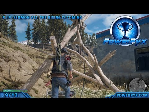 Days Gone - All RIP Sermon Locations (Collectibles)