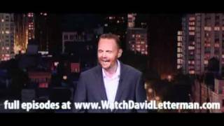 Bill Burr in Late Show with David Letterman August 25, 2011