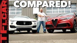 Spaghetti or Ravioli: Maserati Levante vs Alfa Romeo Stelvio Compared