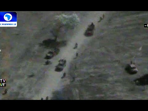 Army Releases Video Showing Terrorists Fleeing Sambisa Forest