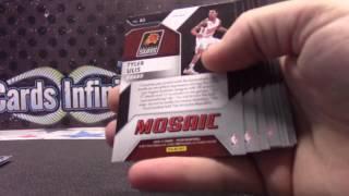2016/17 Panini Mosaic Basketball 5 Box Serial #s GB for Replay Serial #s
