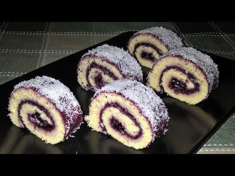 Video Digulung Cake Tanpa Mentega